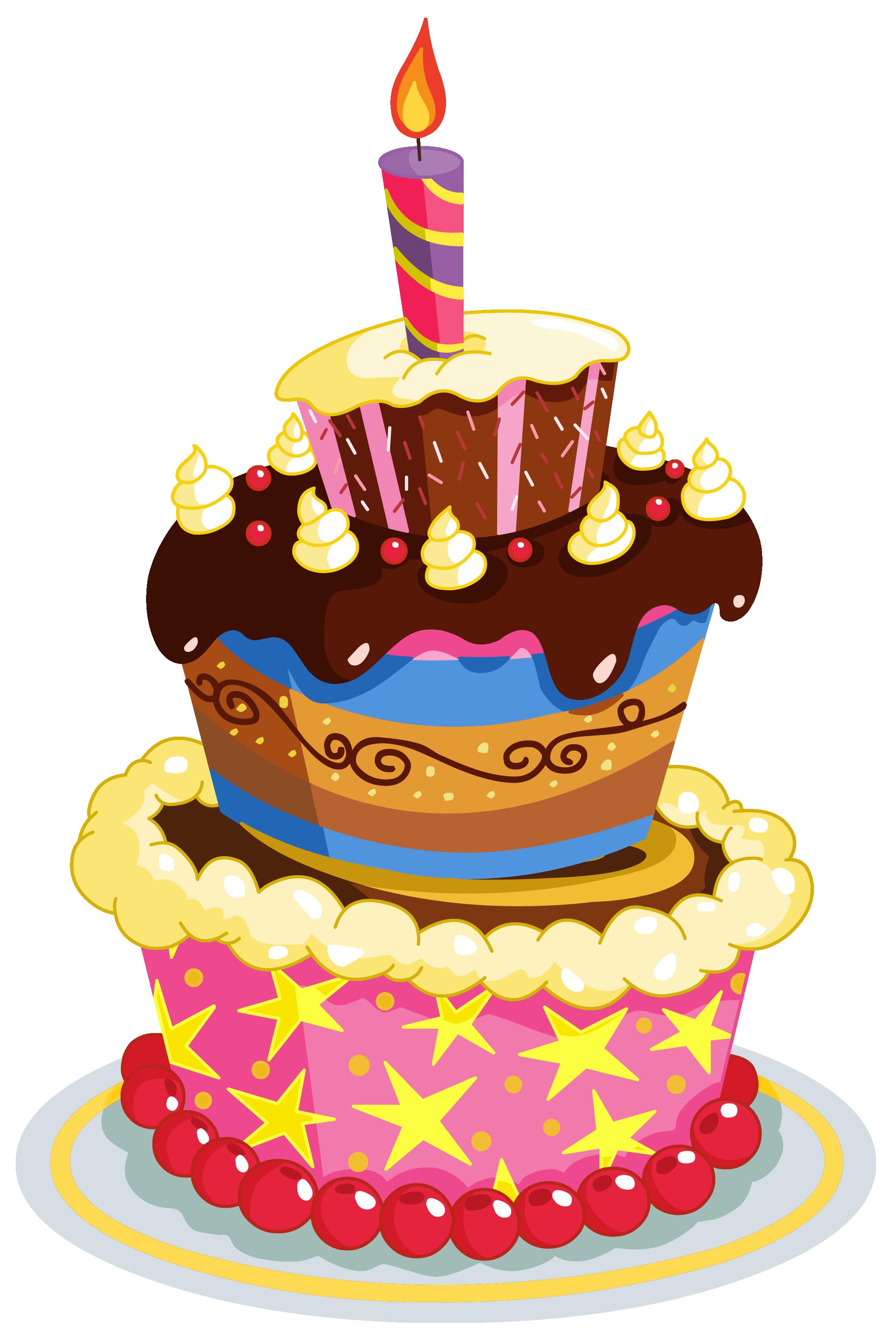 Happy Birthday Cake Clip . View Full Siz-Happy birthday cake clip . View full size ?-16