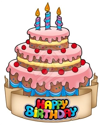Happy Birthday Cake Clipart Clipart Pand-Happy Birthday Cake Clipart Clipart Panda Free Clipart Images-16