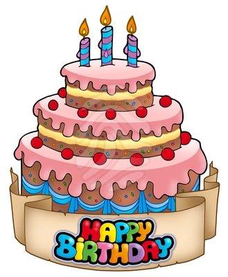 Happy Birthday Cake Clipart-Happy Birthday Cake Clipart-1