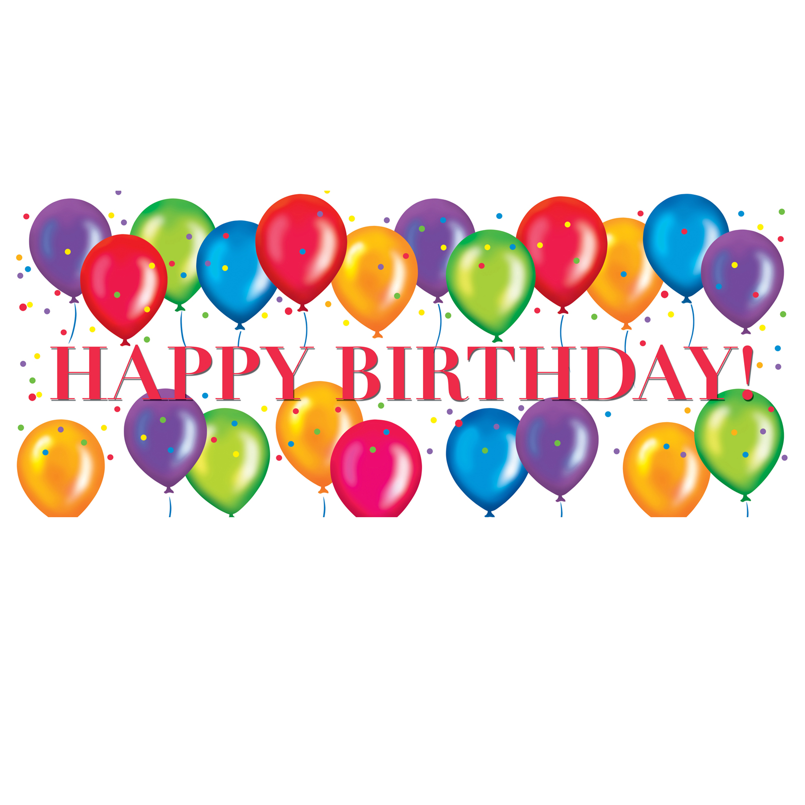 happy birthday clipart free .