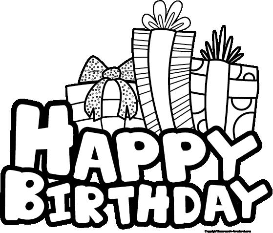 Happy Birthday Clip Art Black ... 06d3e201a53dc92adb83fab22659ae .
