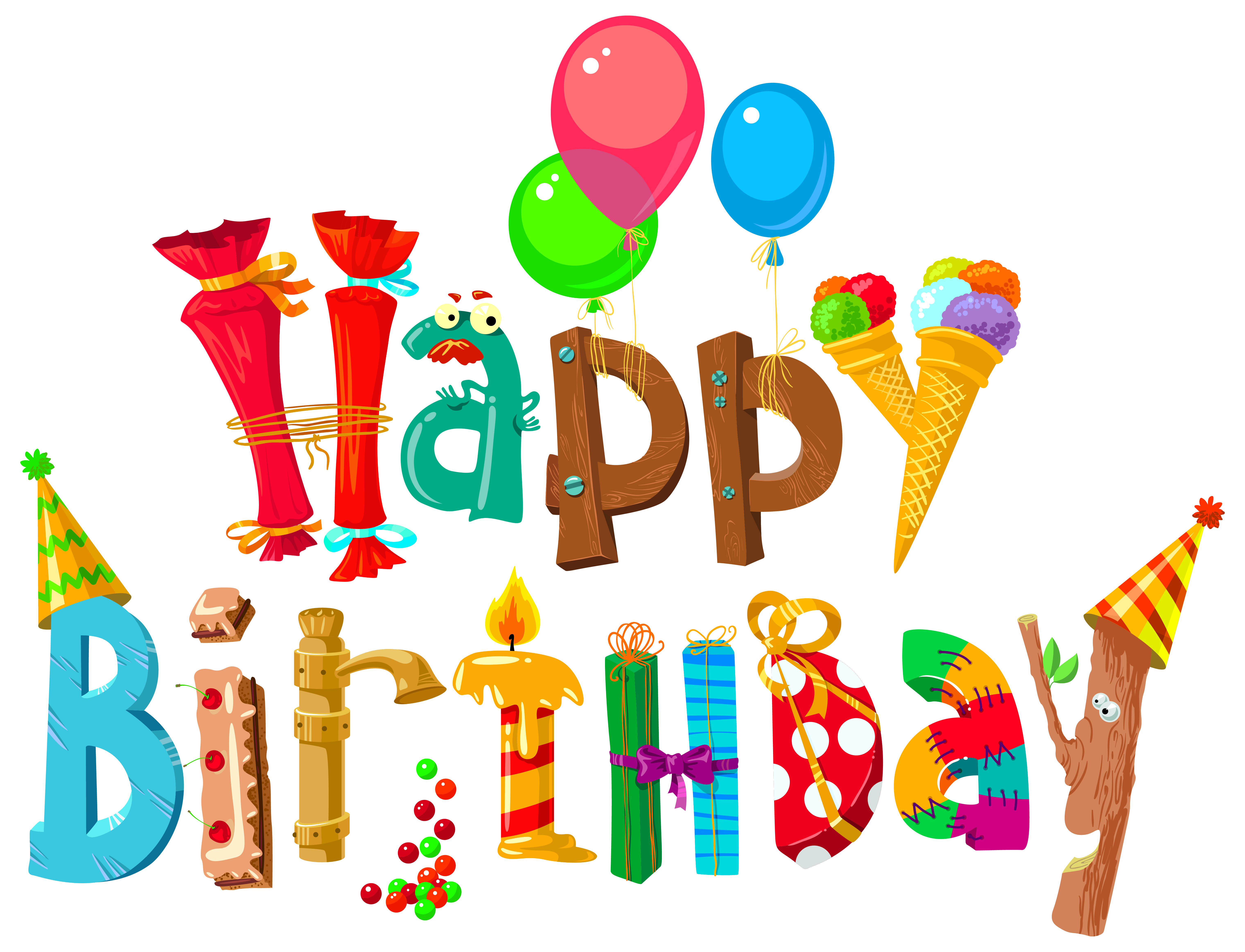 Happy Birthday Clip Art .-happy birthday clip art .-15
