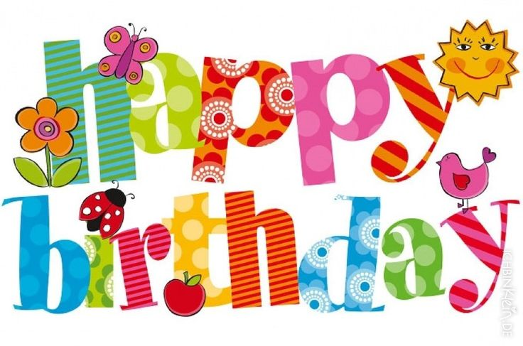 Happy Birthday Clip Art - Clip Art Birthday
