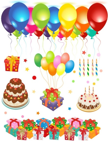 Happy birthday clip art free Free vector We have about (212,903 files) Free vector in ai, eps, cdr, svg vector illustration graphic art design format .