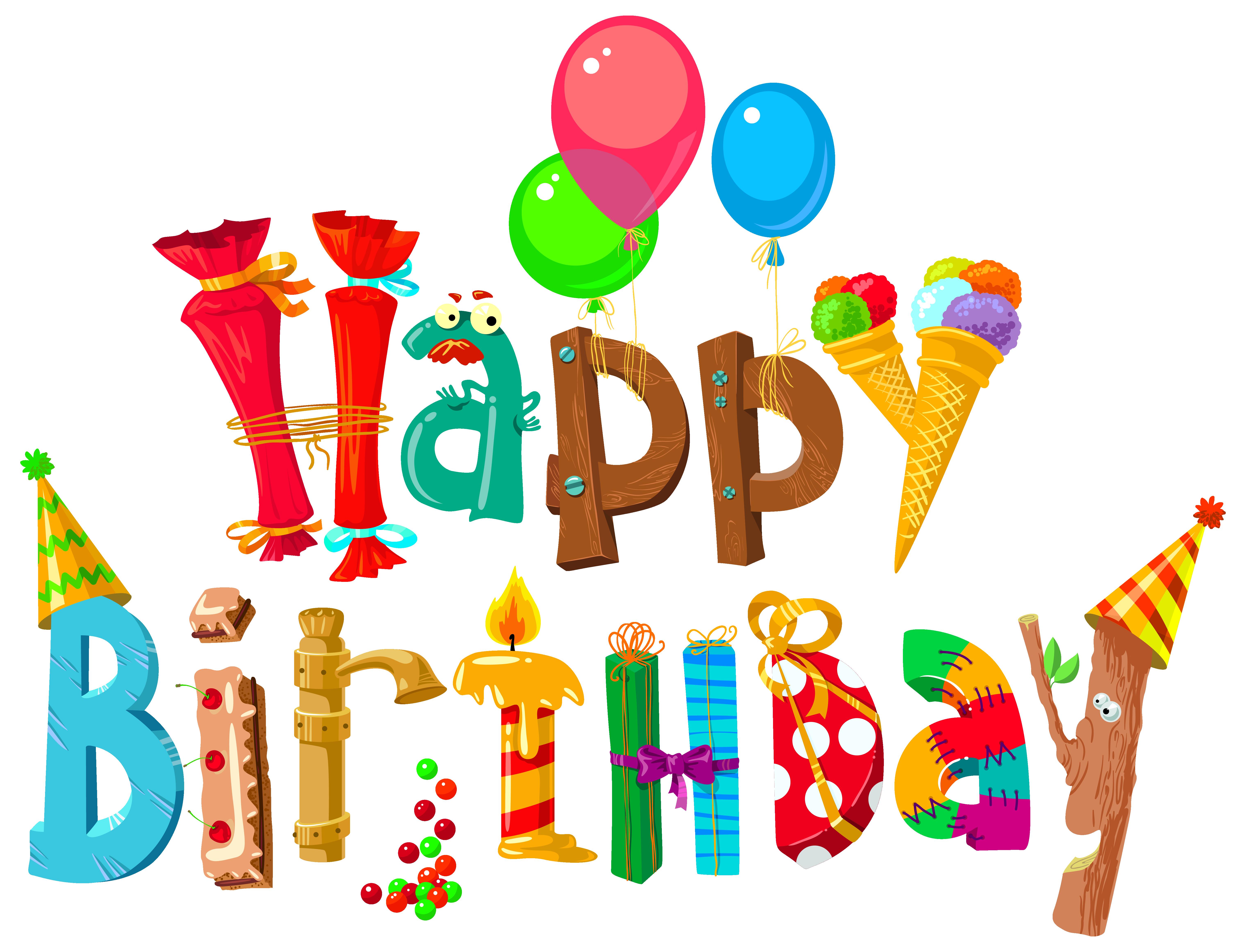 Happy Birthday Clip Art .-happy birthday clip art .-7