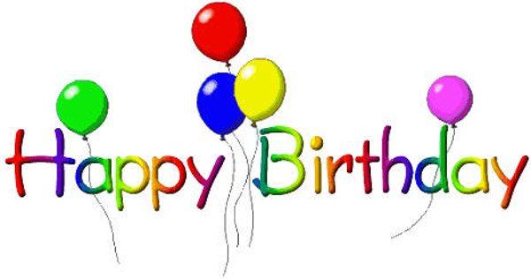 Happy birthday art clips - Cl