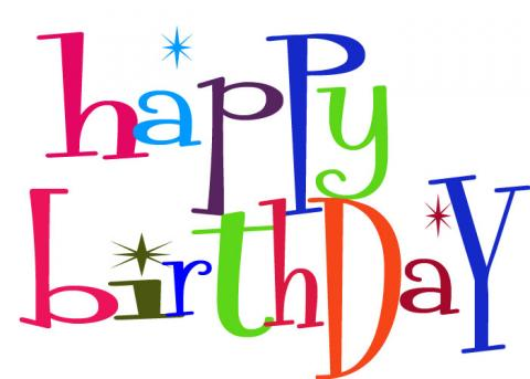 Happy birthday clipart 2 3