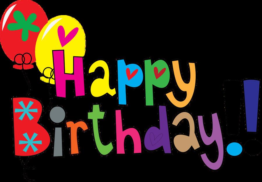 Happy birthday clipart 3