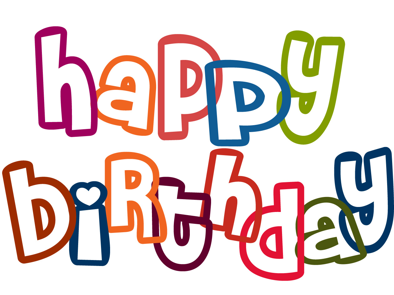 happy birthday clipart - Birthday Clipart