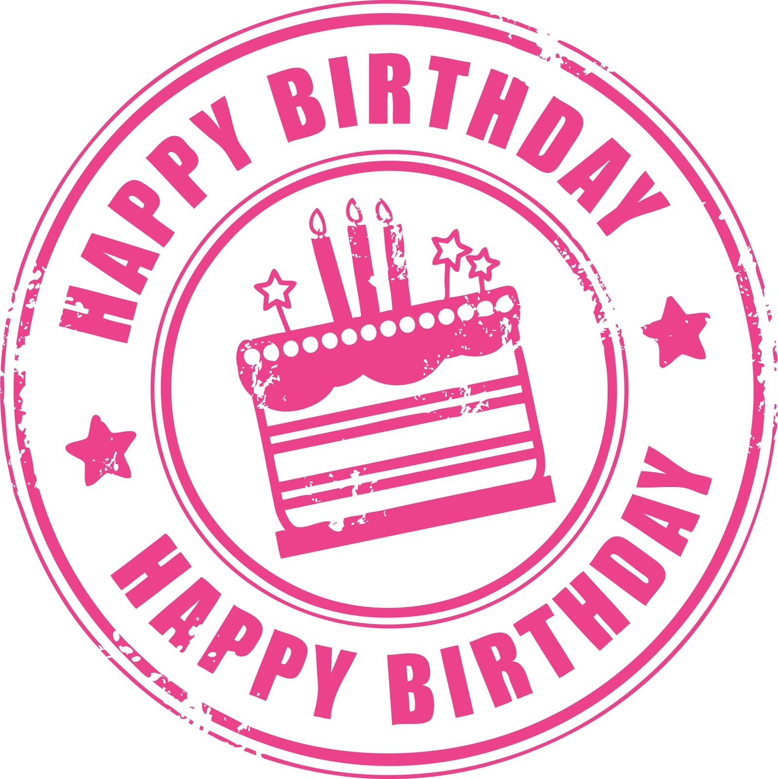Happy birthday clipart for her