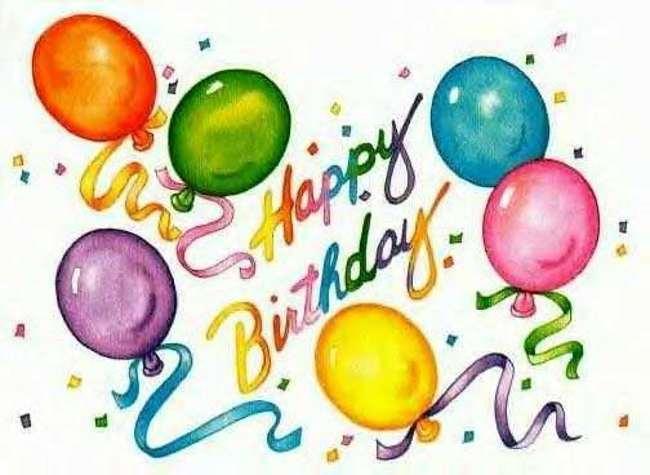 happy birthday clipart free .