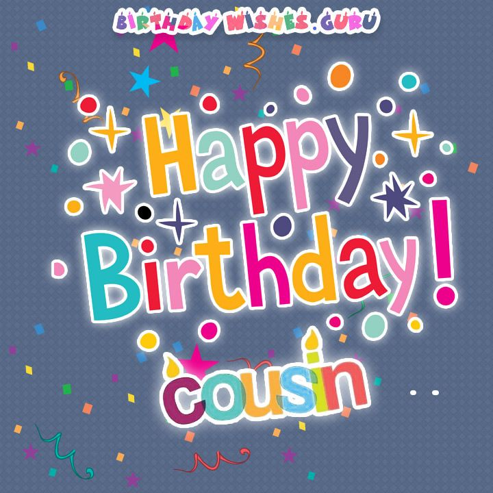 Happy Birthday Cousin-Happy Birthday Cousin-9