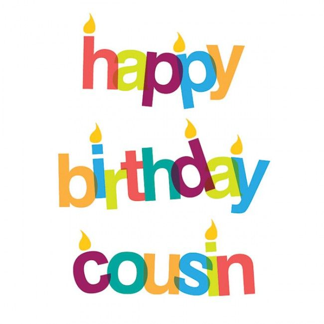 Happy Birthday Cousin Images - Happy Birthday Cousin Clipart