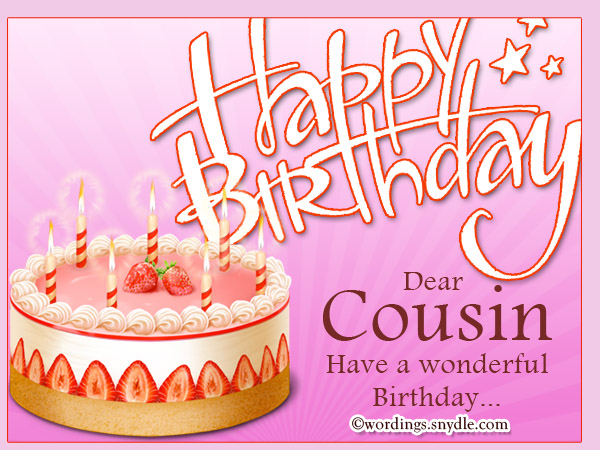 Happy Birthday Cousin on . - Happy Birthday Cousin Clipart