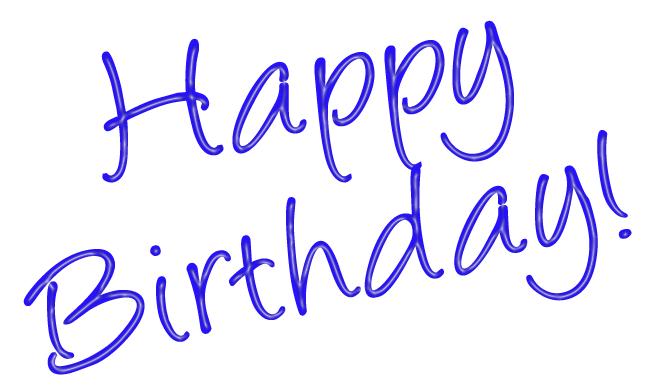 Happy birthday free birthday .