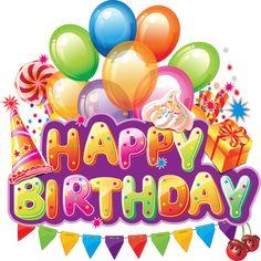 Happy Birthday . Happy Birthday . Clip a-Happy Birthday . Happy Birthday . Clip art, Happy birthday cakes .-11