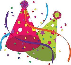 Happy Birthday Hat Clip Art ..