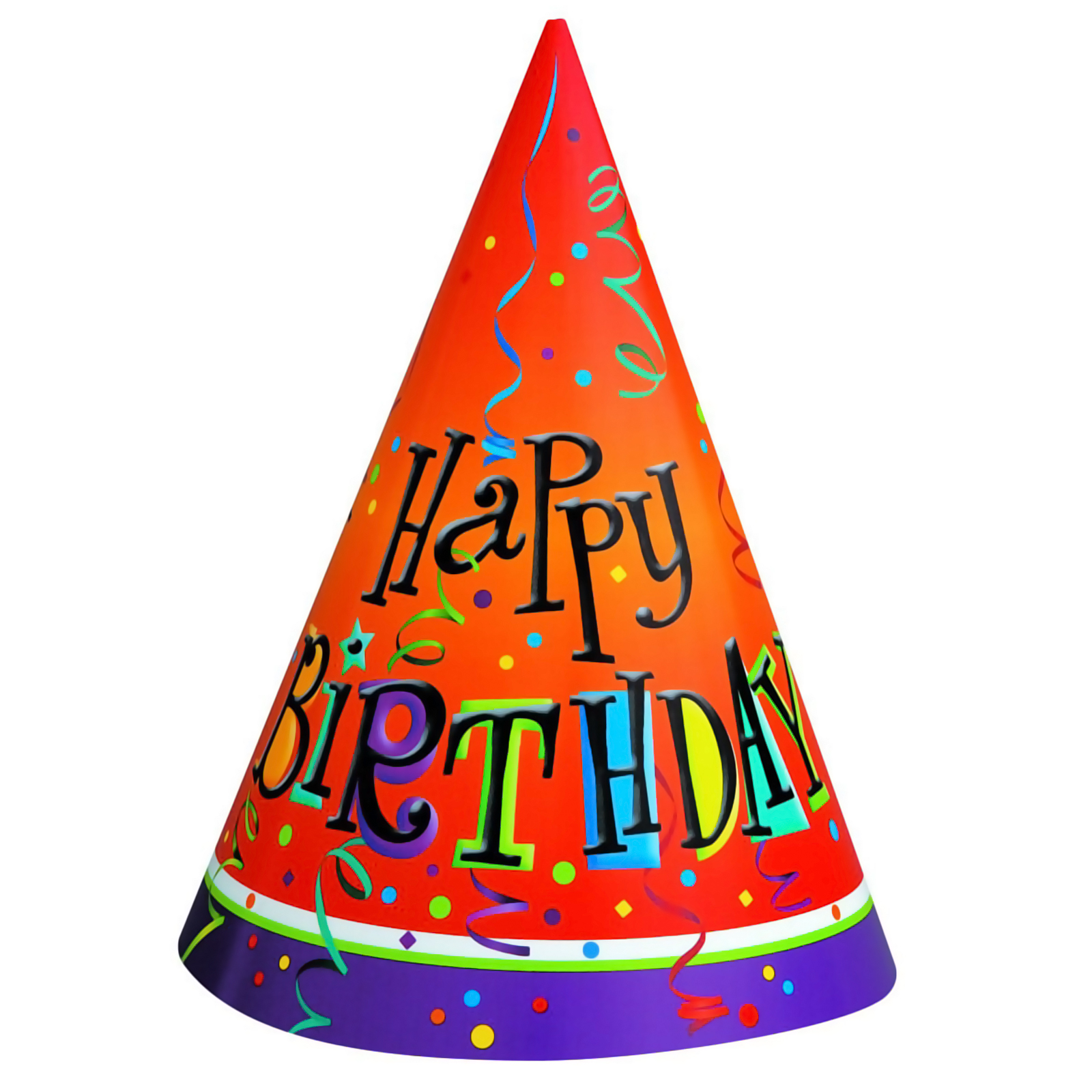 Happy Birthday Hat Png Clipar - Clipart Birthday Hat