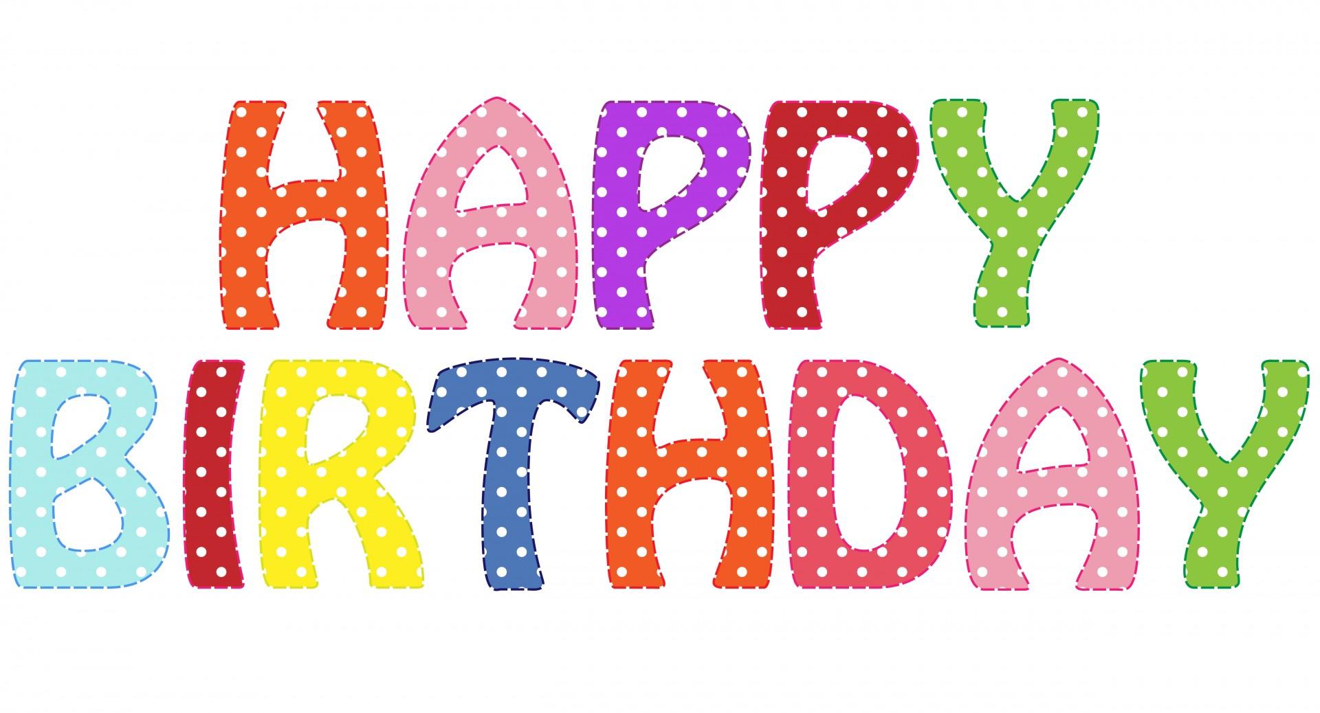 Happy Birthday Moving Clip Art Happy Birthday Text Clipart