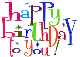 Happy Birthday To You Clipart .-Happy Birthday To You Clipart .-15