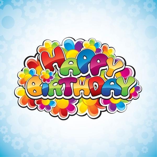 Happy Birthday Vector Illustration-Happy Birthday Vector Illustration-14