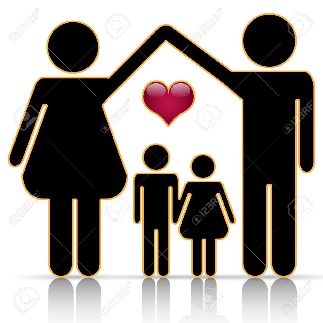 Happy Black Family Clipart .-Happy Black Family Clipart .-9