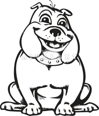 Happy bulldog clipart free clipart image-Happy bulldog clipart free clipart images-7