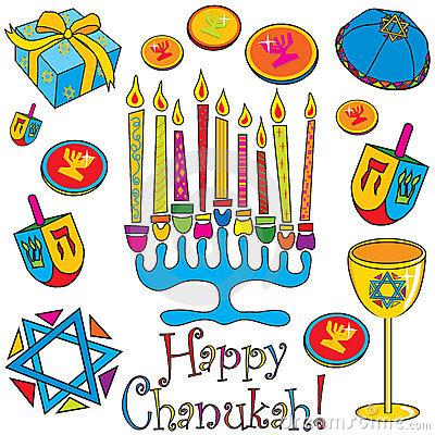 Happy Chanukah Colorful Clipart-Happy Chanukah Colorful Clipart-4