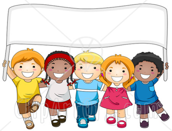 happy children clipart. Advertising. -Diverse-School-Kids-With- .