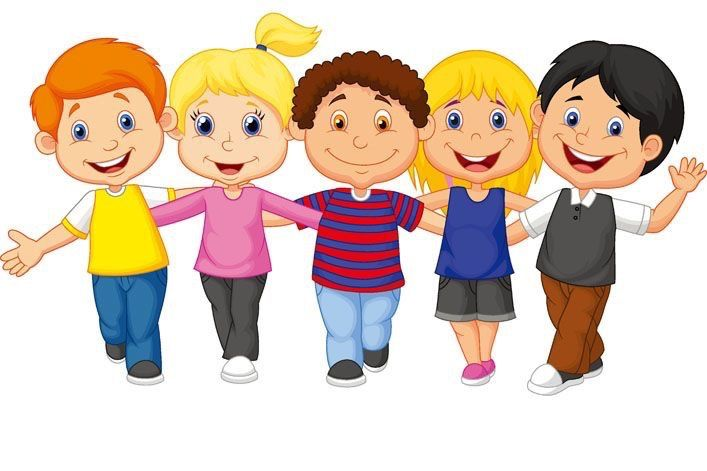 Happy Children Clipart
