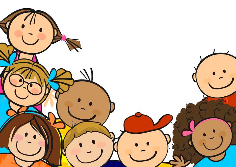 happy children clipart