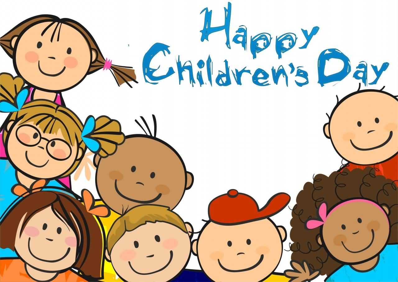 Happy Children. Happy Childre - Childrens Clipart