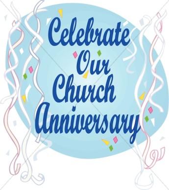 Happy Church Anniversary Clip .-Happy Church Anniversary Clip .-11