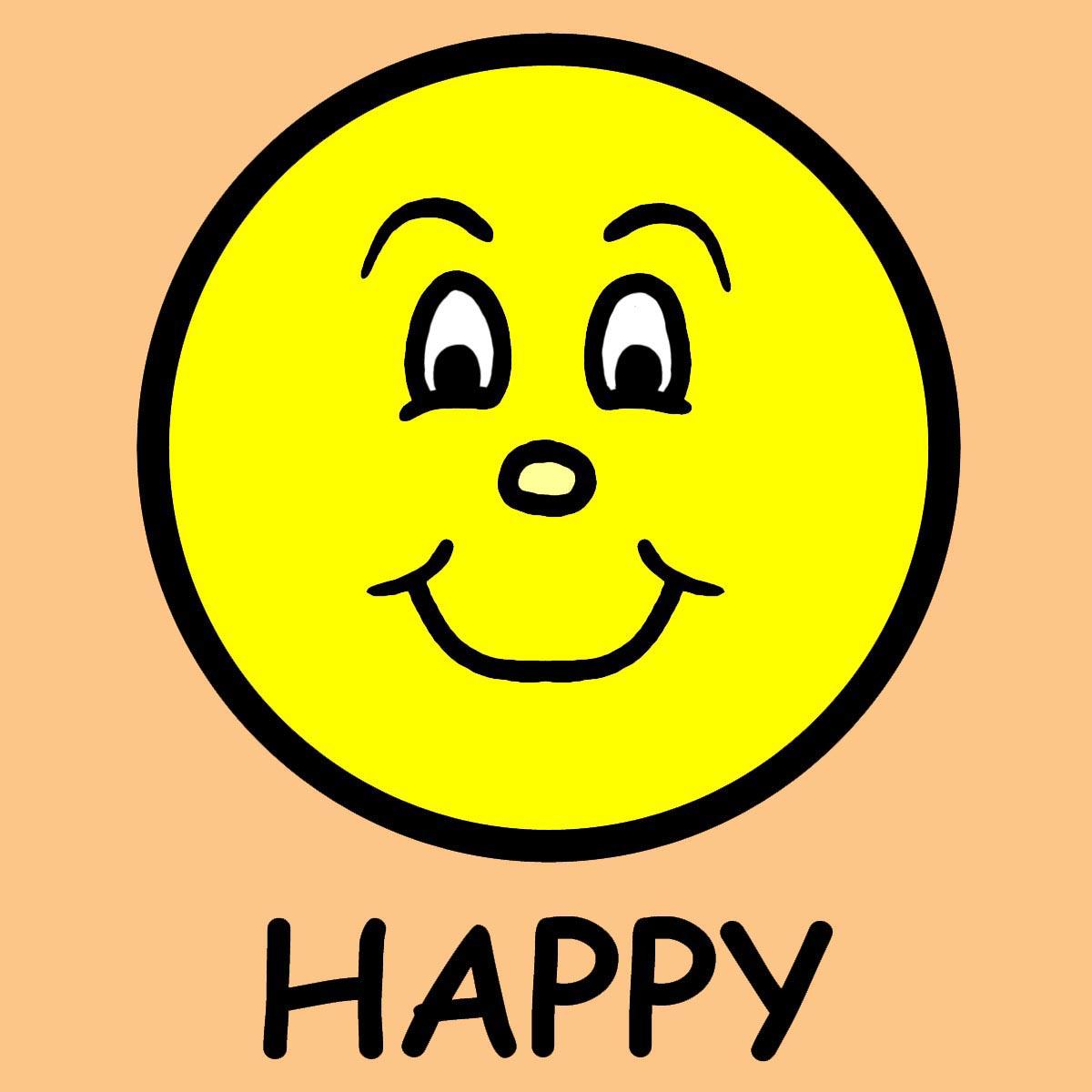 Happy Clip Art