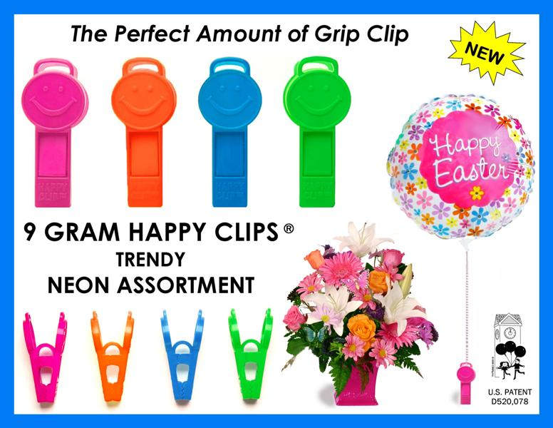 Happy Clip is a Balloon Clip and Weight type of Balloon Accessory produced by Creative Balloons