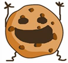 happy cookie - Cookie Clip Art