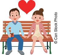 Happy Couple Stock Illustrationby ...-Happy couple Stock Illustrationby ...-13