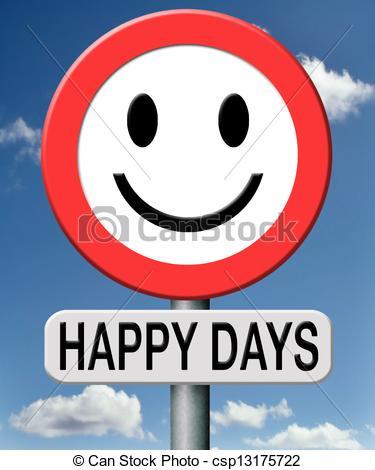 happy days - csp13175722