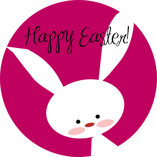 Happy Easter Bunny clip art - - Happy Easter Clipart