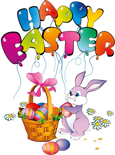Happy Easter Bunny Clipart | Happy Easter Day | Pinterest | Art, Search and Bunnies