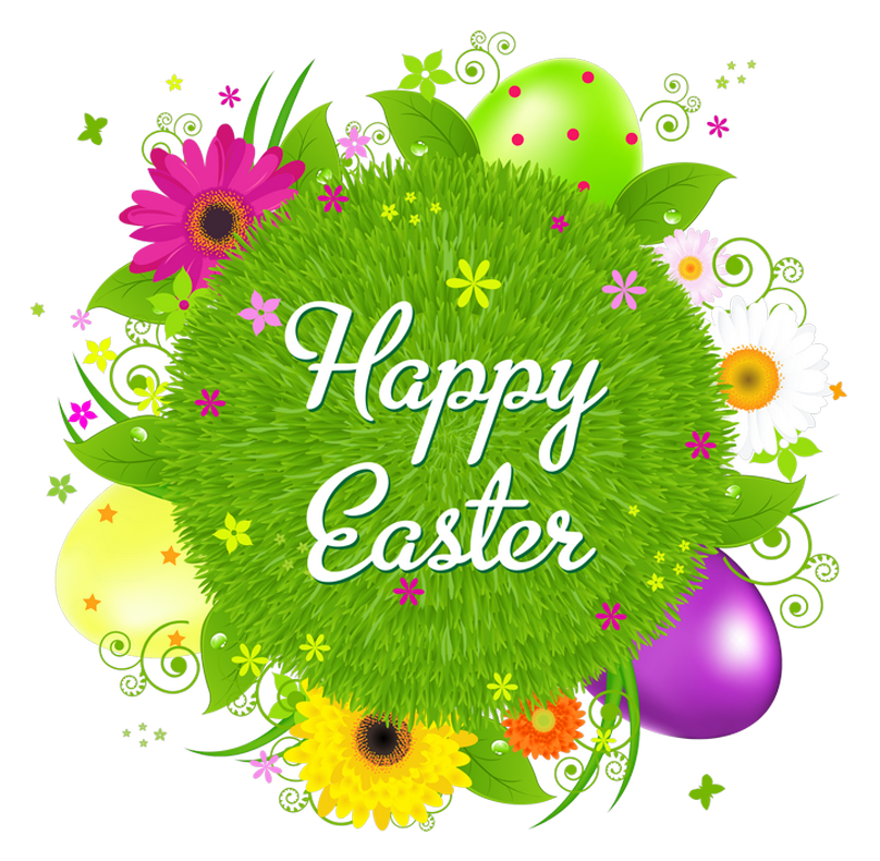Happy Easter Transparent Decor PNG Clipa-Happy Easter Transparent Decor PNG Clipart Picture-6