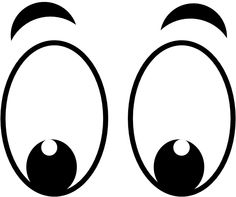Happy Eyes Clipart - Gallery - Eyes Clipart Black And White