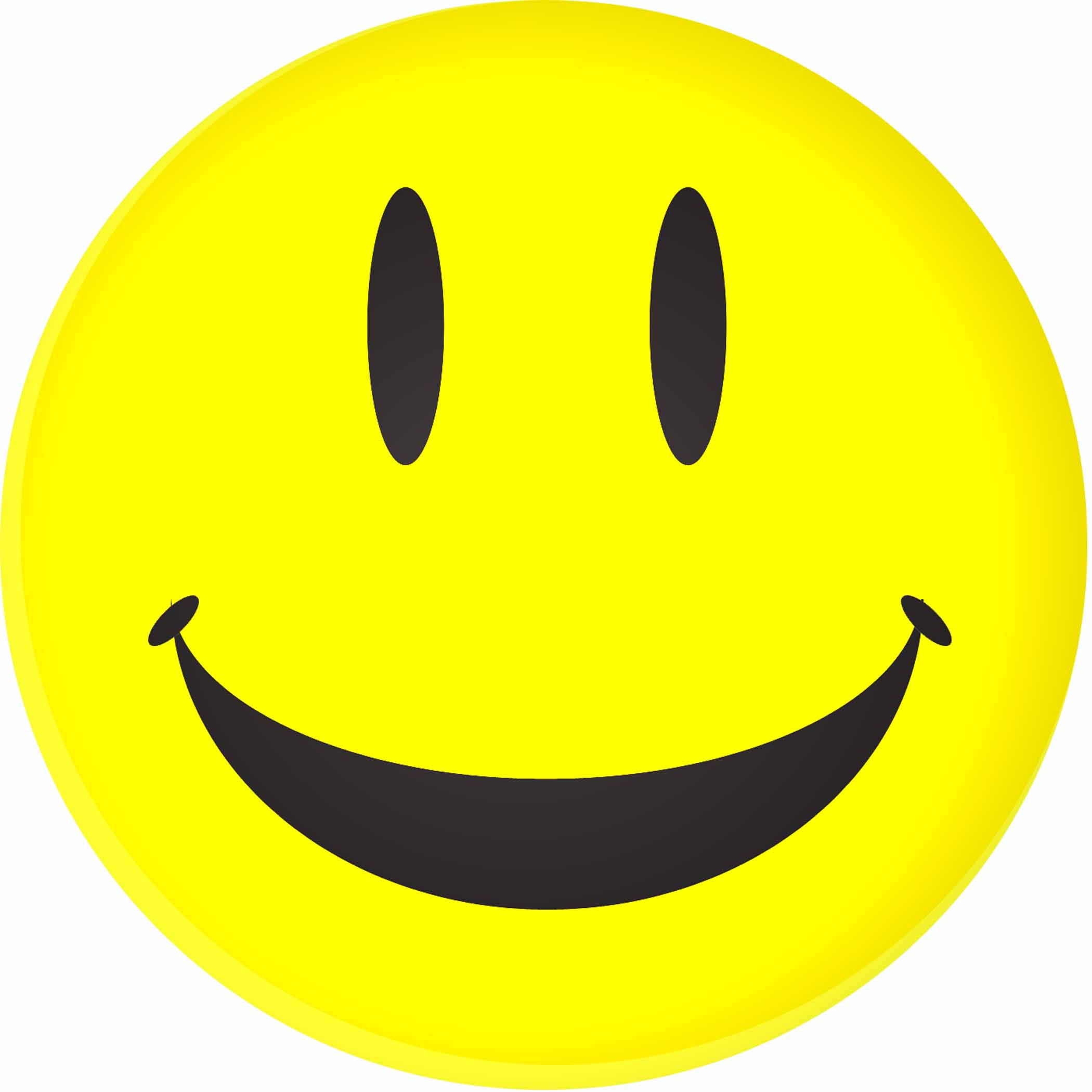 Happy face clip art smiley face clipart clipartcow