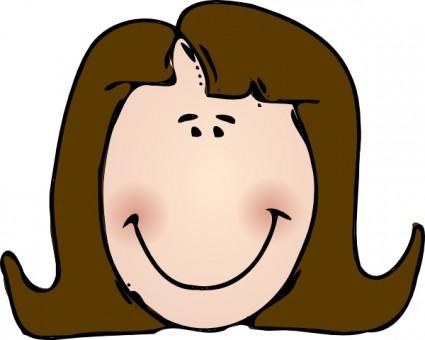 Happy Face Clipart Smiley .-Happy Face Clipart Smiley .-17