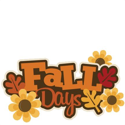 ... Happy Fall Clip Art; Fall Birthday Clipart ...