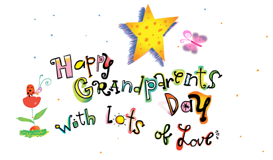 Happy Grandparents Day 2014 Pictures Images Clipart