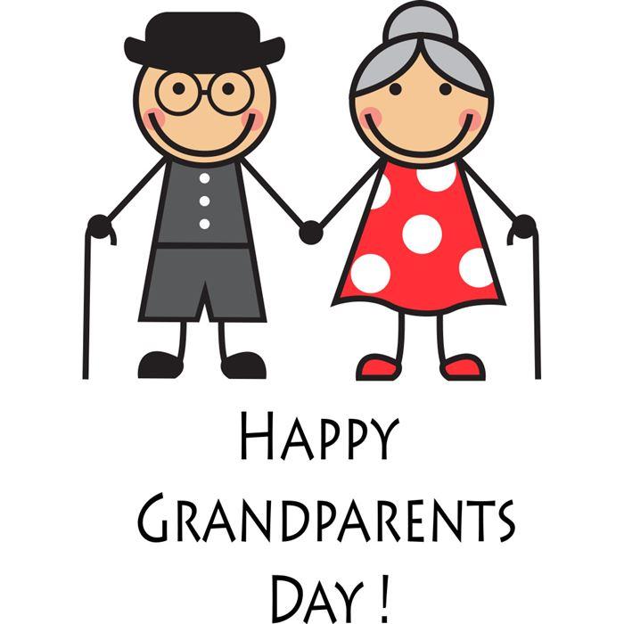 Happy grandparents day clip .