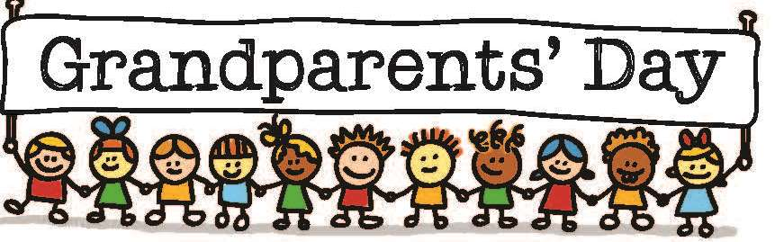 Happy Grandparents Day Clipart Header Image