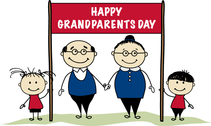 Happy Grandparents day with .