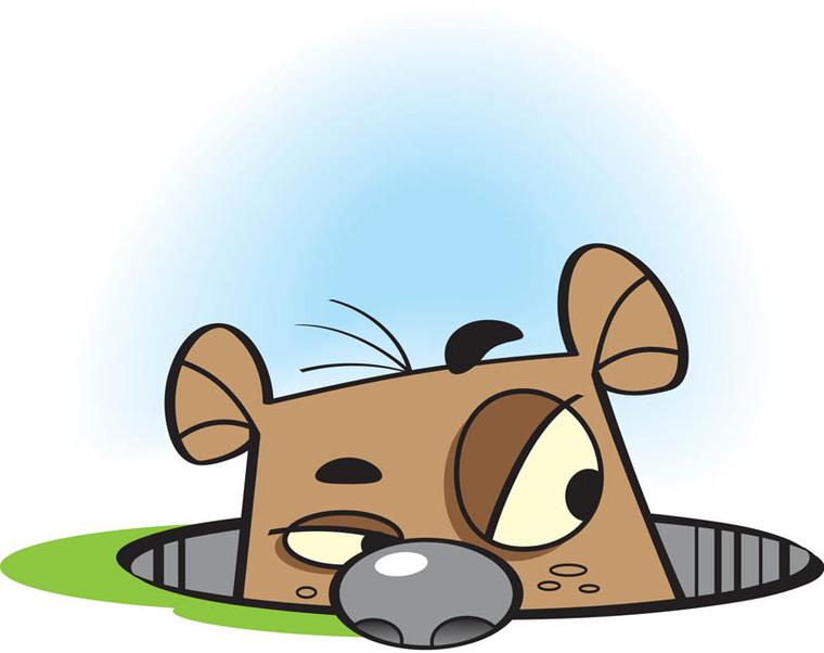 Happy Groundhog Day Eye Opening Design. -Happy Groundhog Day Eye Opening Design. Happygroundhogsdaygif. Groundhog Day Printables Clipart-16
